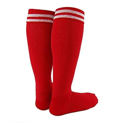 uoojWomen – Chaussette de sport – Femme rouge Red M / L pour les femmes ou les jeunes de 16 ans, les femmes et jusqu'à