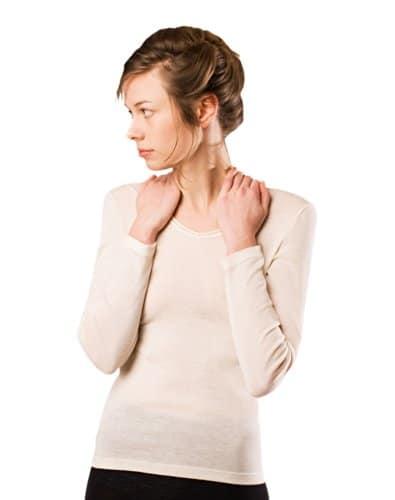 Conception innovante 51722 d92a5 Luxe soie de mûrier & de laine mérinos (70/30) thermique ...