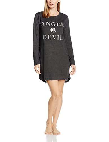 Women'secret HA Angel ND, Chemise de Nuit Femme, Greys, M