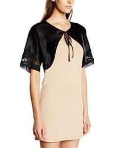 Aubade – Projection Privée Boléro – Maillot de Corps – Uni – Femme – Noir – FR: 38 (Taille Fabricant: S/M)