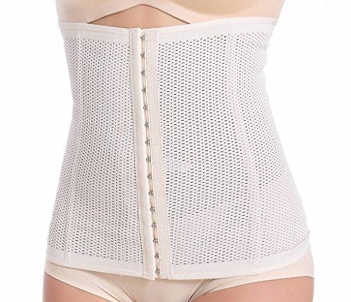 everbellus femme corset gaine amincissante pour ventre plat beige xxx large etincelle lingerie. Black Bedroom Furniture Sets. Home Design Ideas