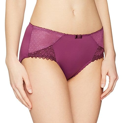 playtex coeur crois f minin culotte br silienne femme violet violet 48 taille fabricant. Black Bedroom Furniture Sets. Home Design Ideas