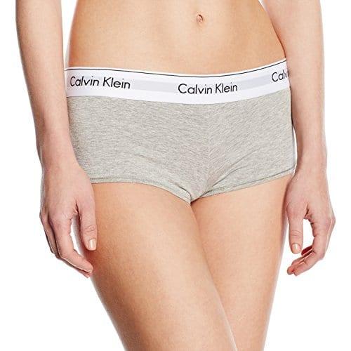 Calvin Klein Underwear – Modern – Boxer – Femme – Gris (grey Heather 020) – Small