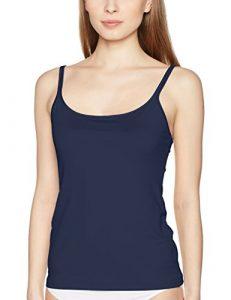 Triumph Be Pure Shirt 01, Maillot de Corps Femme, Bleu (Navy Ra), 38
