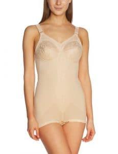 Triumph – Body Femme – Ideal BS (116568) – Beige (Haut ) – FR : Taille unique (Taille fabricant : 80 C)