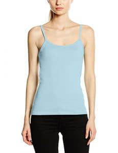 Fruit of the Loom SS089M, T-Shirt Femme, Bleu (Sky Blue), 38