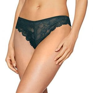 Triumph Tempting Lace Braz, String Femme, Vert (Night Forrest Fs), 48 (Taille Fabricant: XL 48/50)