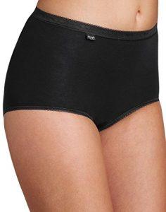 Sloggi Culotte Femme Basic Maxi 8 Pack Couleur Noir (50)