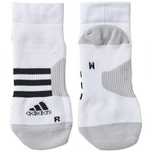 adidas AI3222 Lot de 2 Chaussettes Blanc/Noir/Gris FR : 46-48 (Taille Fabricant : 46-48)