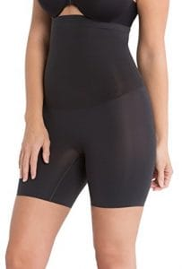 Spanx Womens Shape My Day High Waisted Mid Thigh Shorts in Black Size XS SS5715