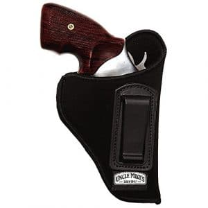 Uncle Mike's Nylon Open Top Style Inside-The-Pant Holster (1, Left Hand)