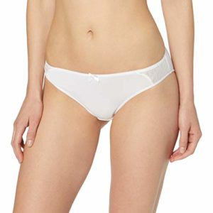 Dim Slip Mes Essentiels by Dentelle (Blanc 0hy), (Taille Fabricant:36) Femme